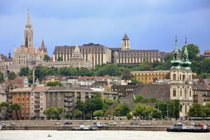 Budapest from the River, Hungary