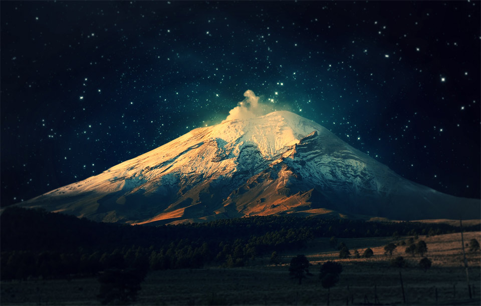 40starry-sky-over-snowy-mountain