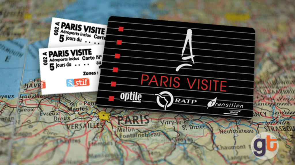 Проездной билет Paris Visite Pass в Париже, Франция