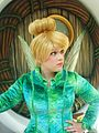 Disneyland Pixie Hollow Tinker Bell coat stare.jpg