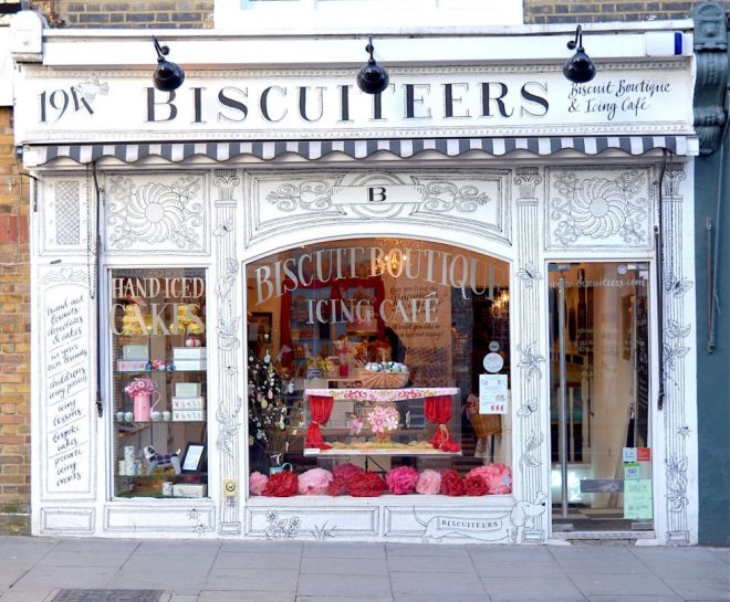 Кондитерская-кафе Biscuiteers Boutique and Icing Café