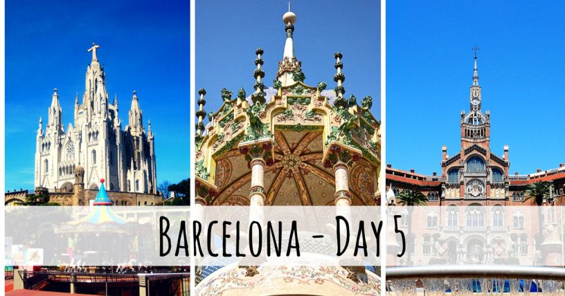 Places to see in Barcelona in five days
