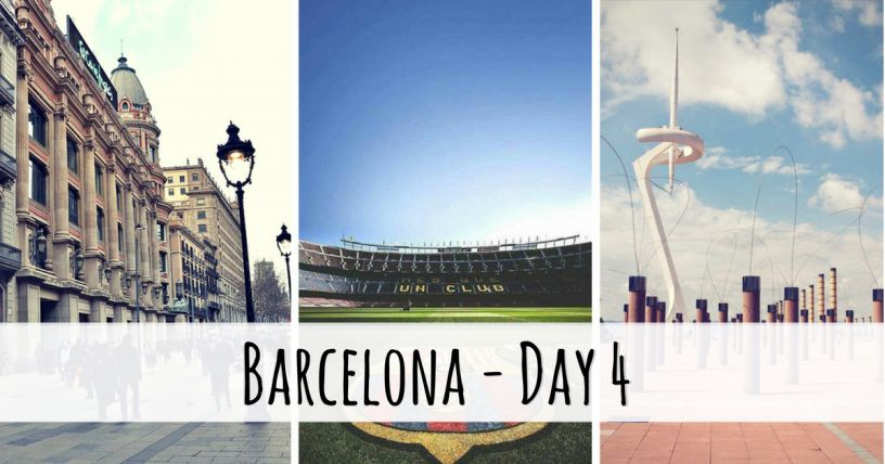 What to see in Barcelona in four days