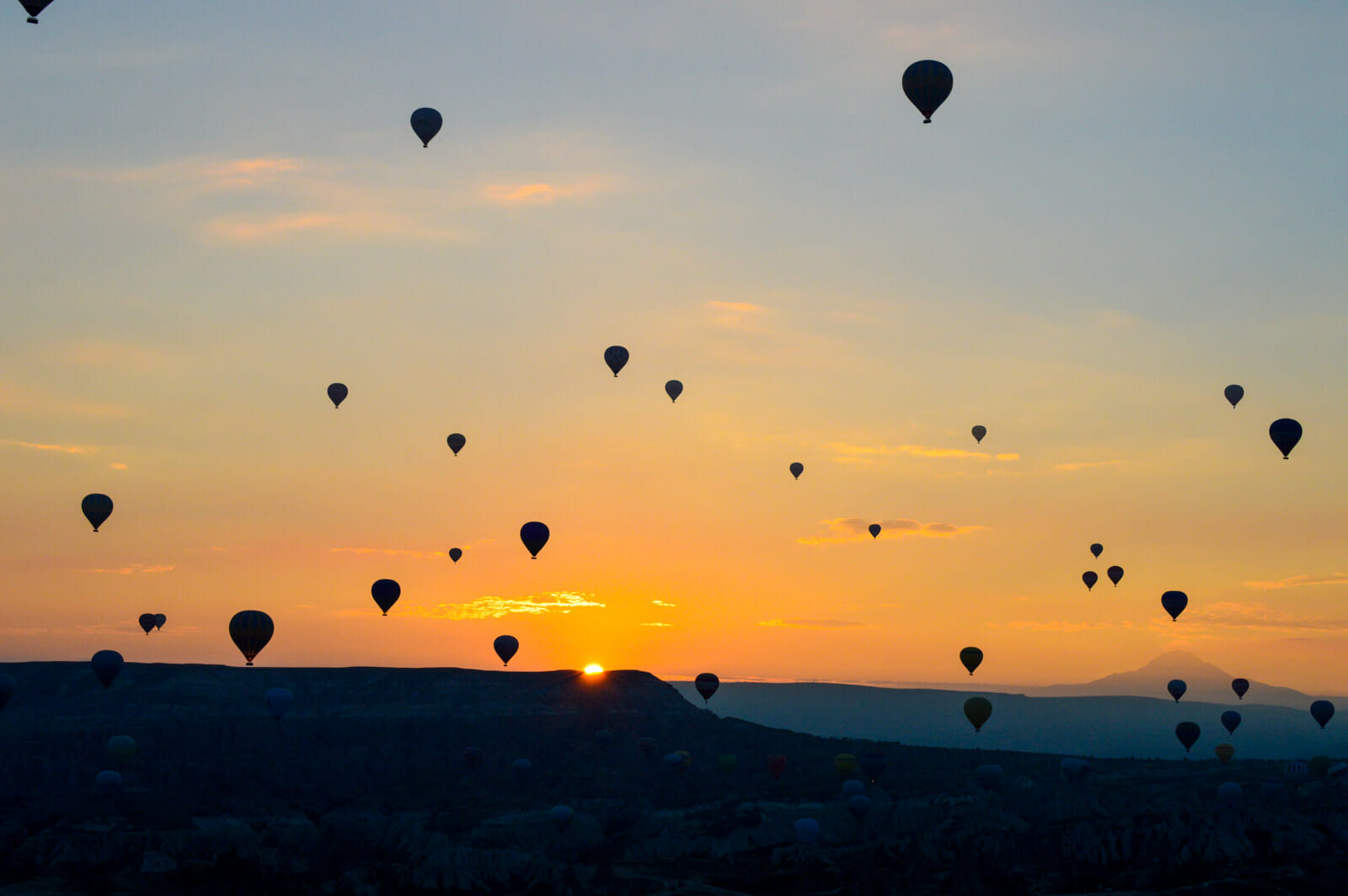 The Hot Air Balloons of Cappadocia 1