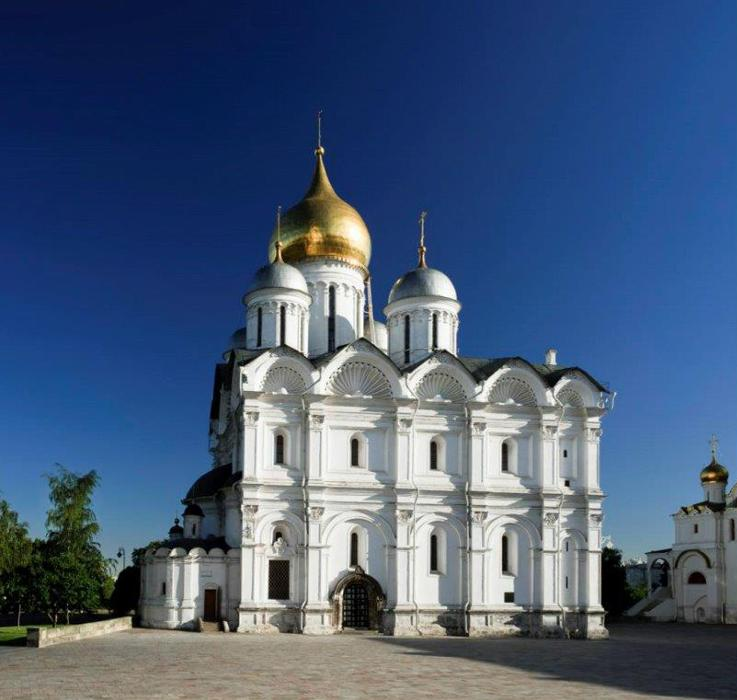 Cathedral of the Archangel in the Moscow Kremlin