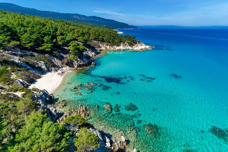 The clear waters of the Halkidiki peninsula in northern Greece & copy; Verve - Fotolia.com