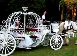 Карета для жениха и невесты. Свадьба в горах Северного Кавказа. Отель Адиюх-Пэлас, отели России, Карачаево-Черкесия