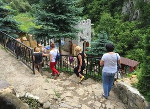 Экскурсии +в горы. Отель Адиюх-Пэлас. Хабез, Карачаево-Черкесия.
