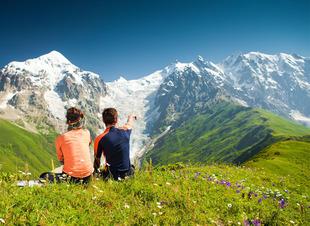 Отдых на природе в горах Архыза. Отель Адиюх-Пэлас, Хабез, Карачаево-Черкессия