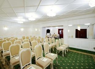 Конференц зал. Отель Адиюх-Пэлас. Хабез, Карачаево-Черкесия.