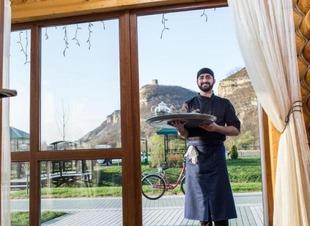 Организация и проведение банкетов в горах. Отель Адиюх-Пэлас. Хабез, Карачаево-Черкесия.