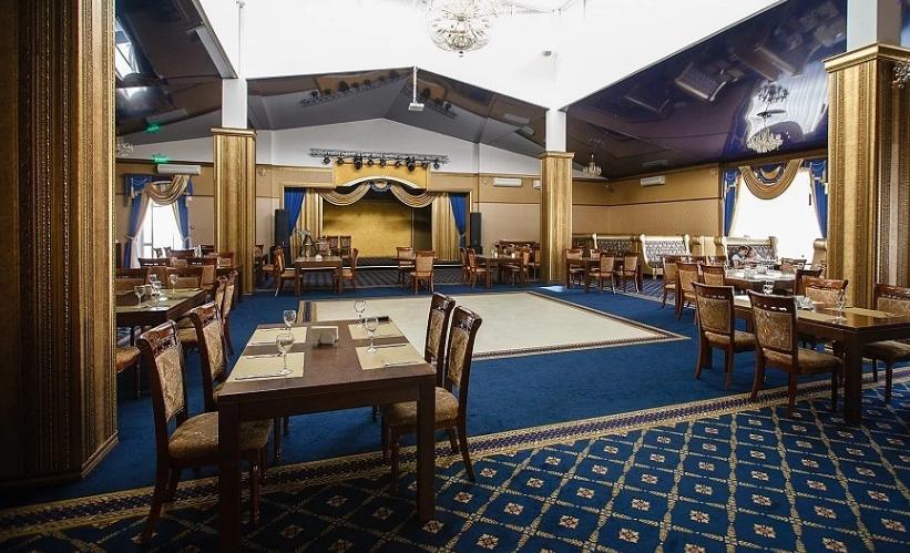 Арендовать банкетный зал в горах. Отель Адиюх-Пэлас. Хабез, Карачаево-Черкесия.