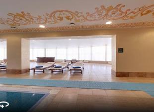 Купель с ледяной водой. Отель Адиюх-Пэлас. Хабез. Карачаево-Черкессия.