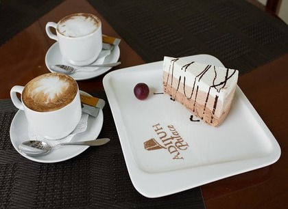 Лобби-бар. Отель Адиюх-Пэлас. Хабез, Карачаево-Черкесия.