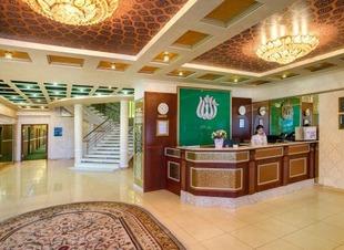Лобби-бар. Ресторан Минара. Отель Адиюх-Пэлас, Хабез, Карачаево-Черкессия.